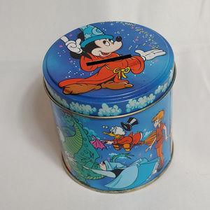 Vintage Disney Fantasia Mickey Tin Coin Bank